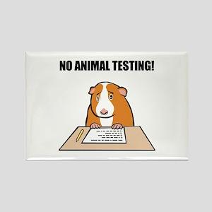 No Animal Testing! Rectangle Magnet