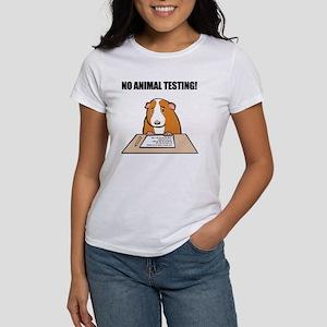 No Animal Testing! Women's T-Shirt