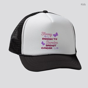 Breast Cancer Survivor Kids Trucker hat