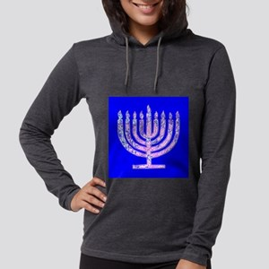 Menorah Hanukkah Lemuel's Long Sleeve T-Shirt