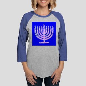 Menorah Hanukkah Lemuel's Long Sleeve T-Shirt