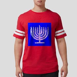 Menorah Hanukkah Lemuel's Fave T-Shirt