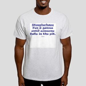 Steeplechase Fun & Games Ash Grey T-Shirt