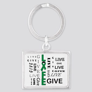 Live to Give Landscape Keychain