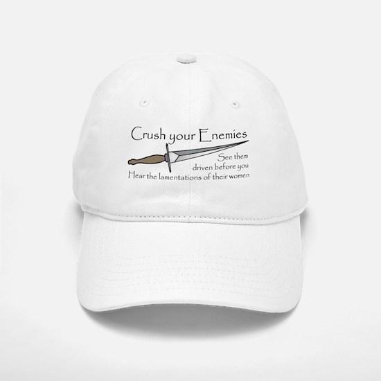 Crush Your Enemies Baseball Baseball Cap