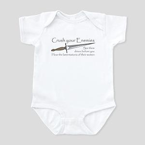 Crush Your Enemies Infant Bodysuit
