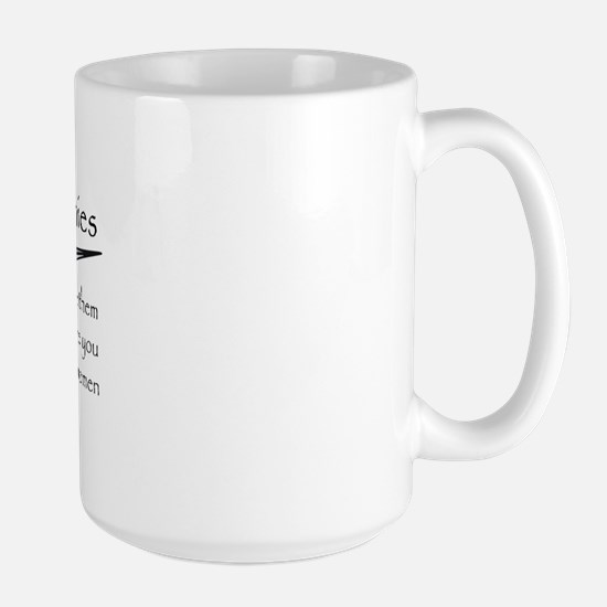 Crush Your Enemies Large Mug