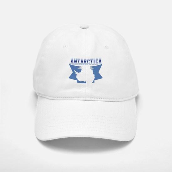 Antarctic flag ribbon Baseball Baseball Cap