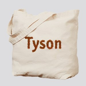 Tyson Fall Leaves Tote Bag