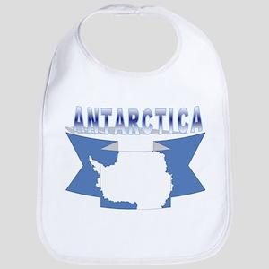 Antarctic flag ribbon Bib
