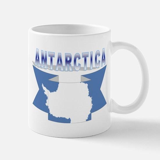 Antarctic flag ribbon Mug