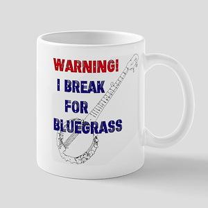 Bluegrass Banjo Break Mugs