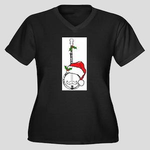 BanjoSanta Plus Size T-Shirt