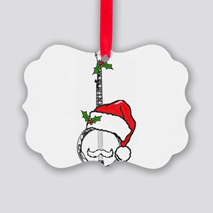 BanjoSanta Ornament