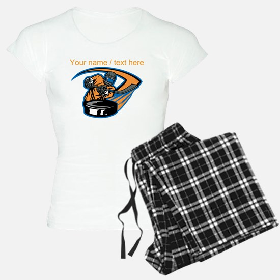 Custom Slap Shot pajamas
