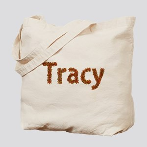Tracy Fall Leaves Tote Bag