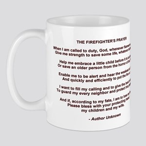 Firefighters Prayer Mug
