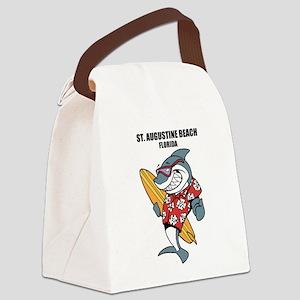St. Augustine Beach, Florida Canvas Lunch Bag