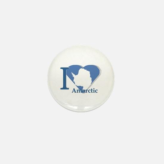 I love antarctic Mini Button