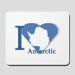 I love antarctic Mousepad