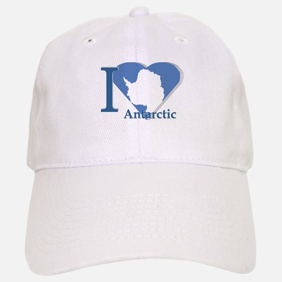 I love antarctic Baseball Baseball Cap