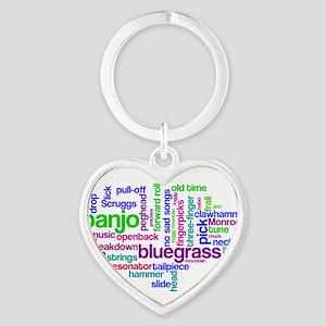 banjo wordle Keychains
