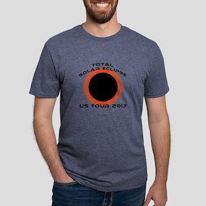 Total Solar Eclipse US Tour Mens Tri-blend T-Shirt