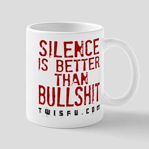 SILENCE - WHITE Mugs