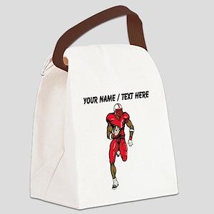 Custom Running Back Canvas Lunch Bag