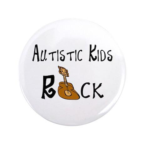 "AutisticKidsRock 3.5"" Button (100 pack)"