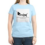 SHARK black Logo 10x10 T-Shirt