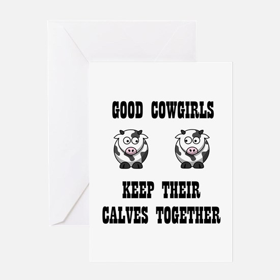 Good Cowgirls Greeting Cards