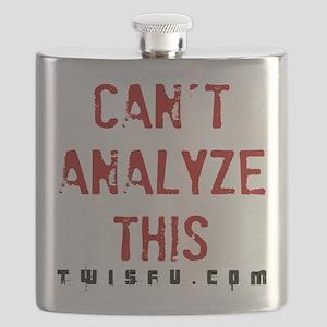 ANALYZE - WHITE Flask
