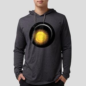 Measuring Time Mens Hooded Shirt