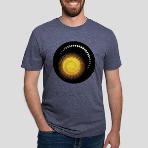 Measuring Time Mens Tri-blend T-Shirt