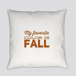 Pretty Fall Colors Everyday Pillow