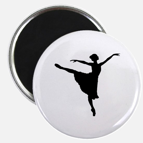 Cute Girls ballet Magnet