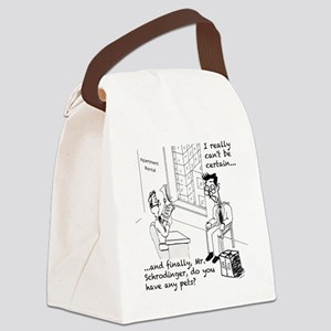 Schrodingers Apartment Canvas Lunch Bag