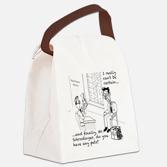 Schrodingers Apartment Canvas Lunch Bag