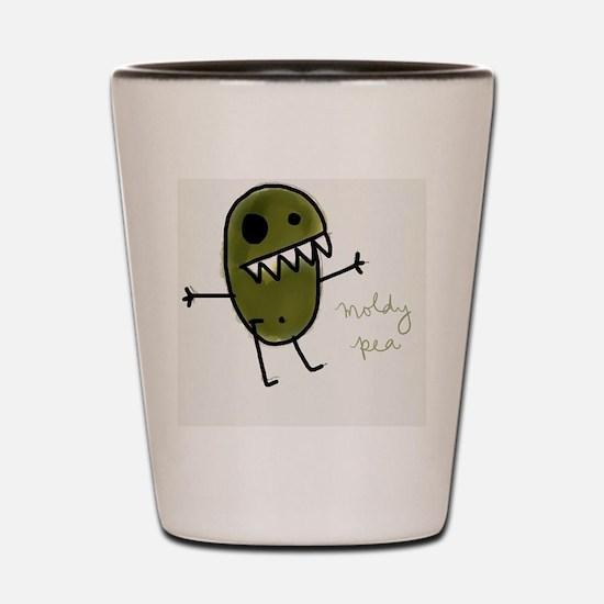 Moldy Pea Monster Shot Glass