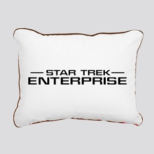 ENTERPRISE Title2 Rectangular Canvas Pillow