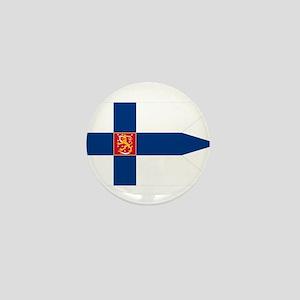 Naval Ensign of Finland Mini Button