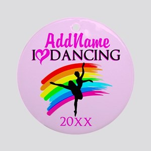 BORN TO DANCE Ornament (Round)