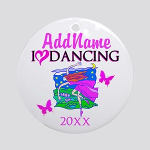 DANCING STAR Ornament (Round)