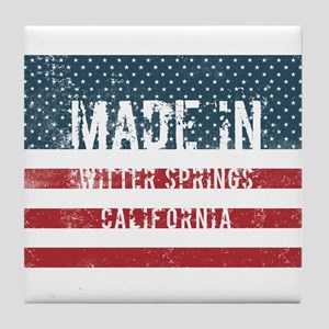 Made in Witter Springs, California Tile Coaster