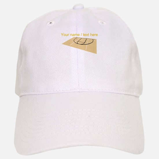 Custom Basketball Court Baseball Baseball Cap