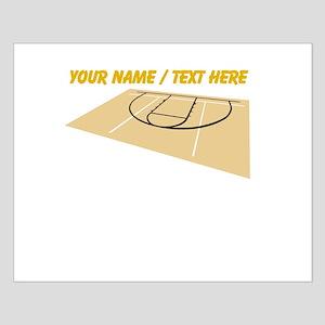 Custom Basketball Court Poster Design