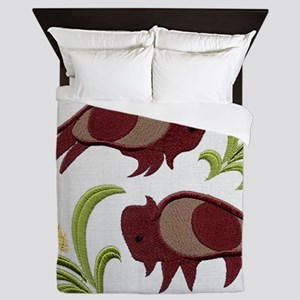 2 Buffalo Queen Duvet