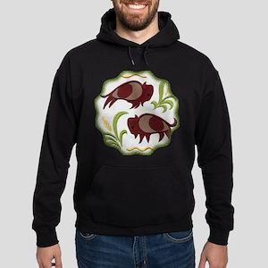 2 Buffalo Hoodie (dark)