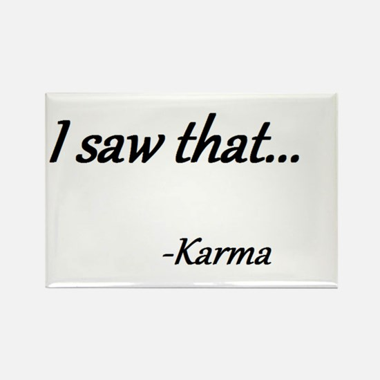 Karma Rectangle Magnet